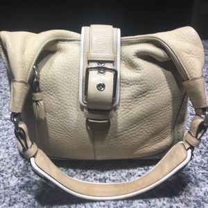 Coach Bags - Coach All-Leather Shoulder Handbag